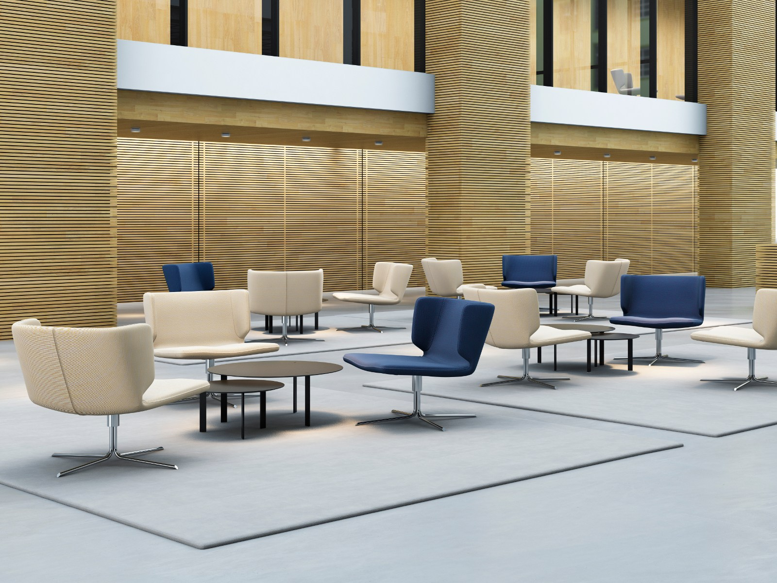 Tavolino rotondo da salotto ryutaro by viccarbe design - Tavolino salotto rotondo ...