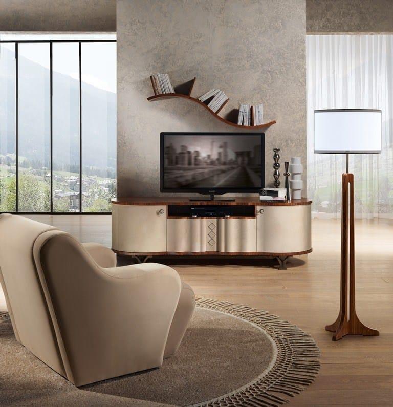 Pensile in legno in stile moderno ripiano ad onda by carpanelli contemporary - Carpanelli mobili ...