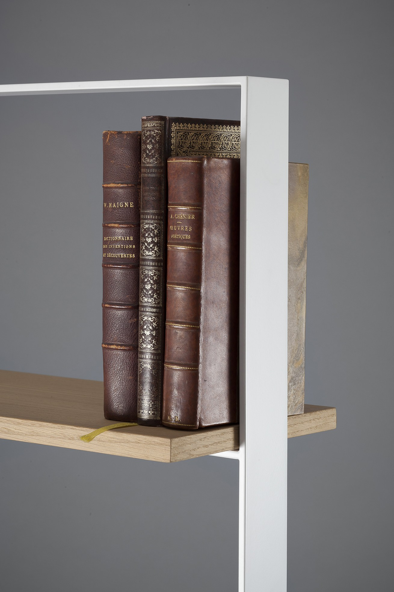 Striking The Severin Bookshelf Alex De Rouvray Exhibition