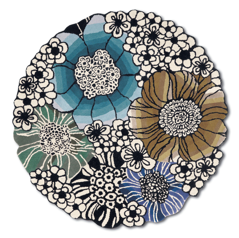 Tappeto fatto a mano rotondo saturnia by missonihome - Missoni home tappeti ...