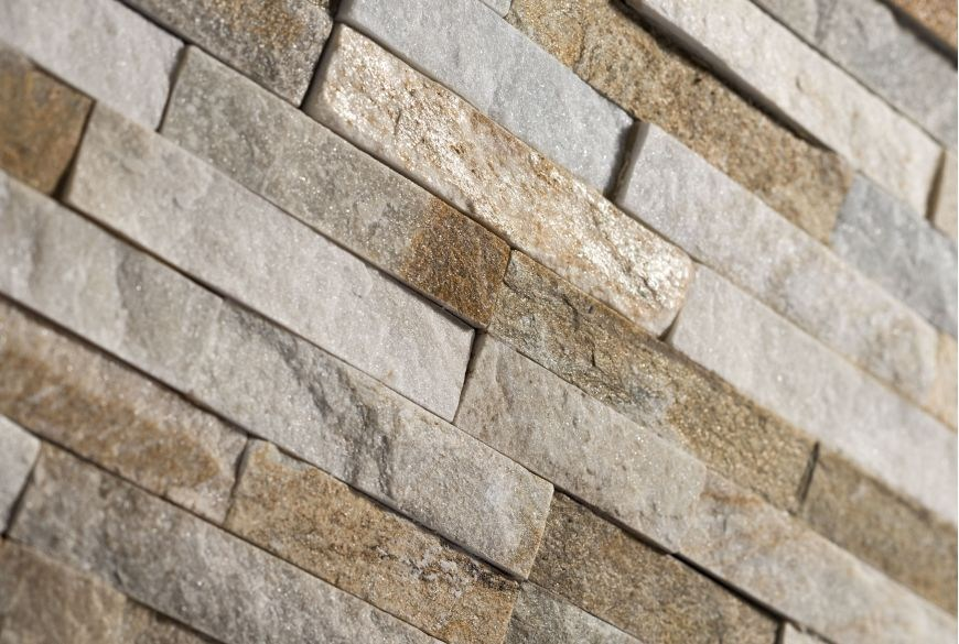 Scaglietta revestimiento de pared de piedra natural by b b - Piedra pared exterior ...