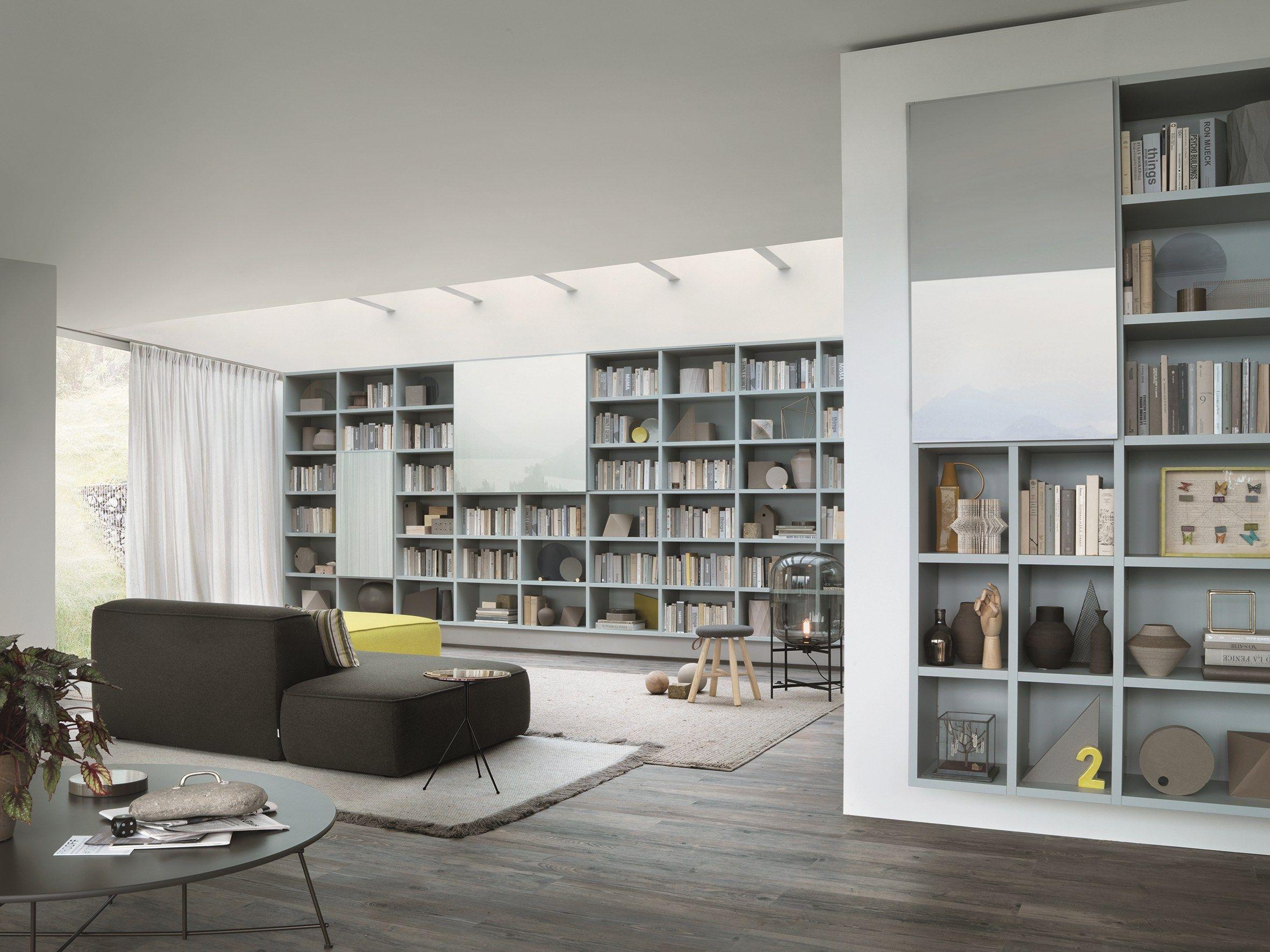 Libreria componibile modulare su misura selecta by lema for Libreria angolare componibile