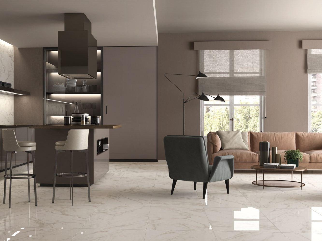 Porcelain stoneware wall/floor tiles sensi by abk industrie ceramiche
