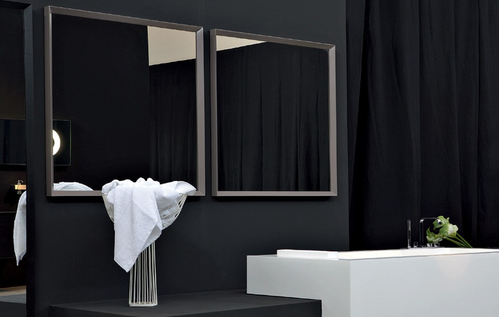 Diseno De Baño Rectangular:Espejo rectangular de diseño SFOGLIA by Antonio Lupi Design® diseño