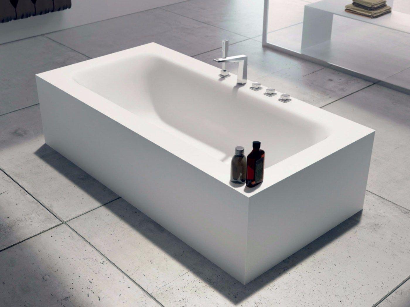 Vasca da bagno rettangolare shape 02 by lasa idea - Bagno rettangolare ...