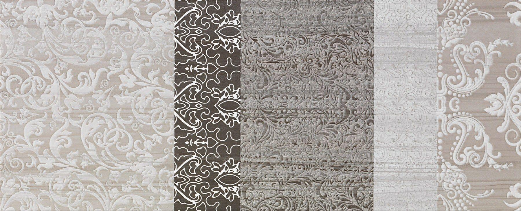 Rivestimento in ceramica a pasta bianca per interni SHINE Tormalina Collezione Shine by Impronta ...