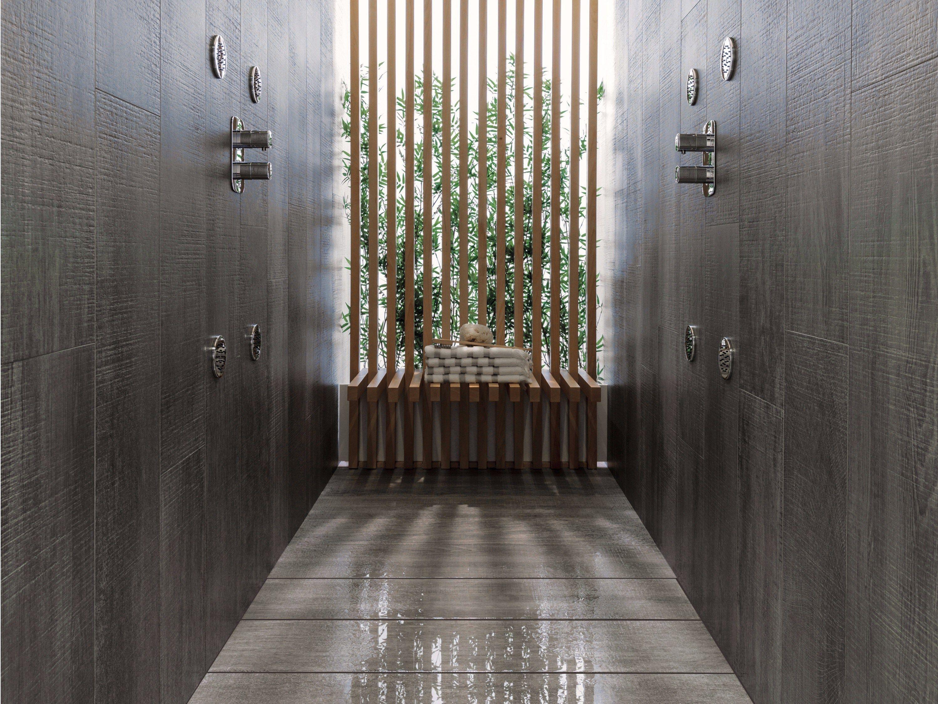 Plato de ducha shower deck by butech for Platos de ducha ceramicos rectangulares