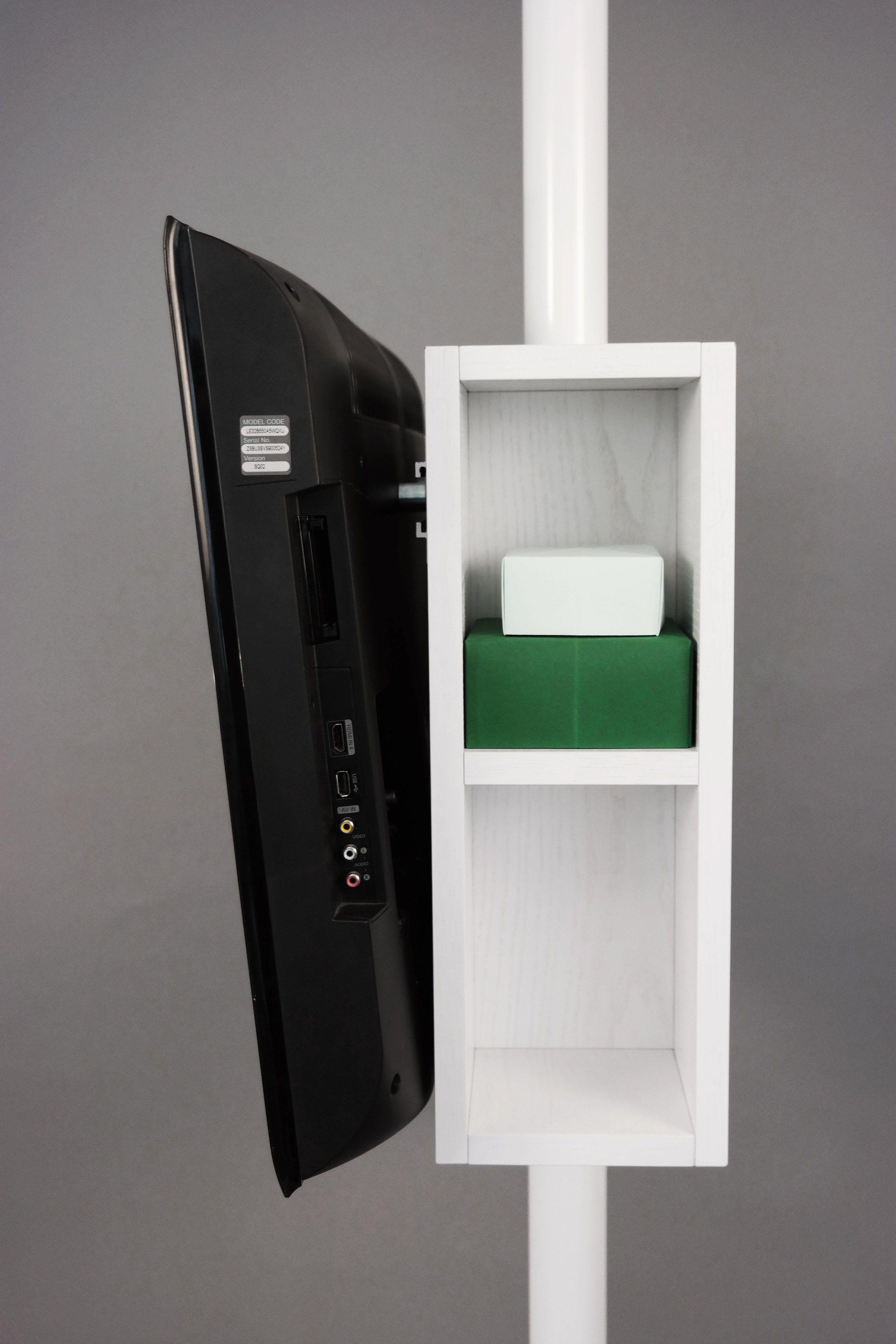 meuble tv orientable showstand by resize design design viktor lindb ck. Black Bedroom Furniture Sets. Home Design Ideas