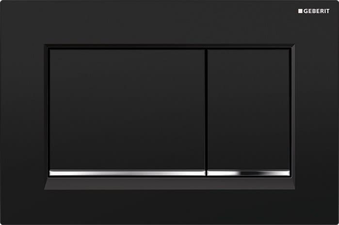 sigma30 flush plate by geberit italia. Black Bedroom Furniture Sets. Home Design Ideas
