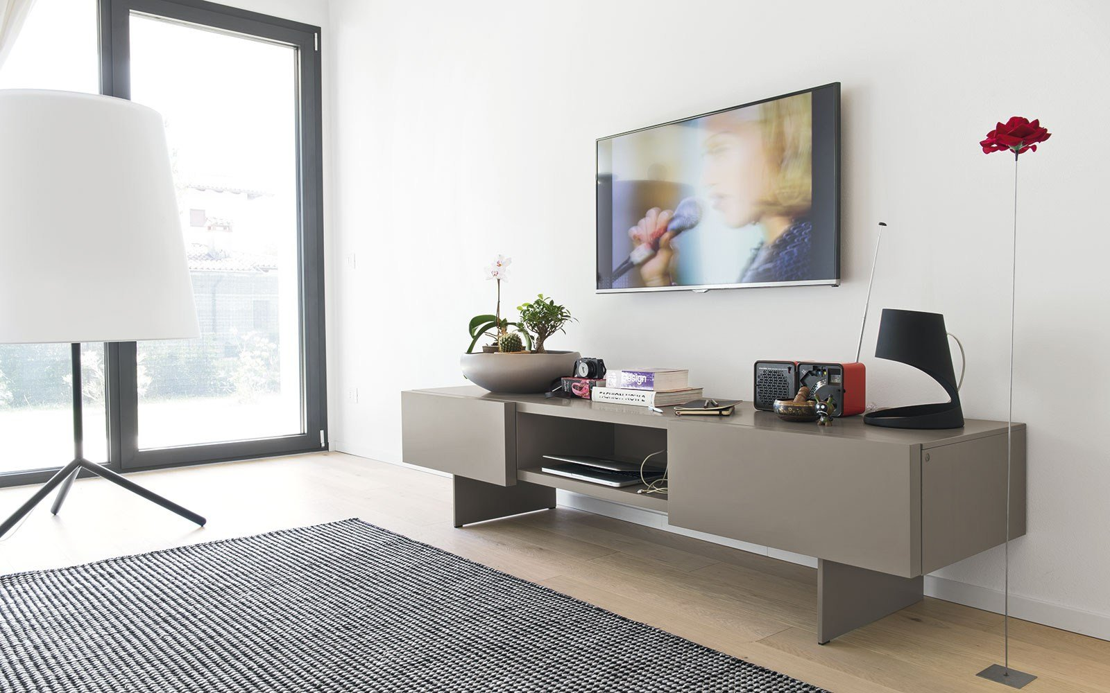 Sipario mobile tv by calligaris - Mobili tv calligaris ...