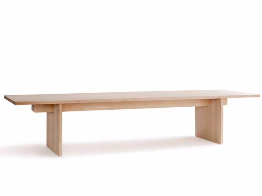 rectangular solid wood dining table skandinavia edi table