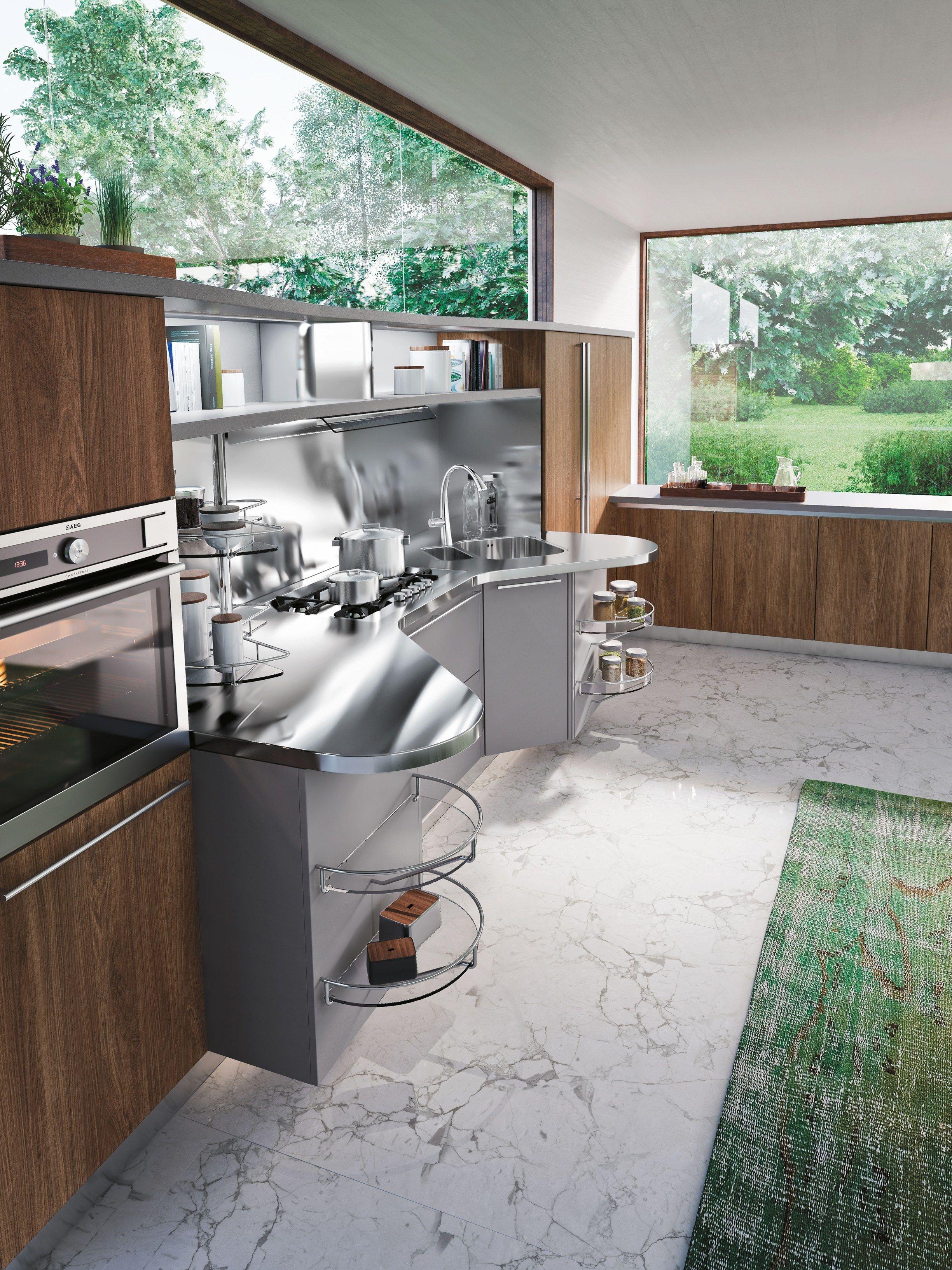 Skyline 2 0 cucina con isola by snaidero design lucci orlandini - Mobili snaidero majano ...