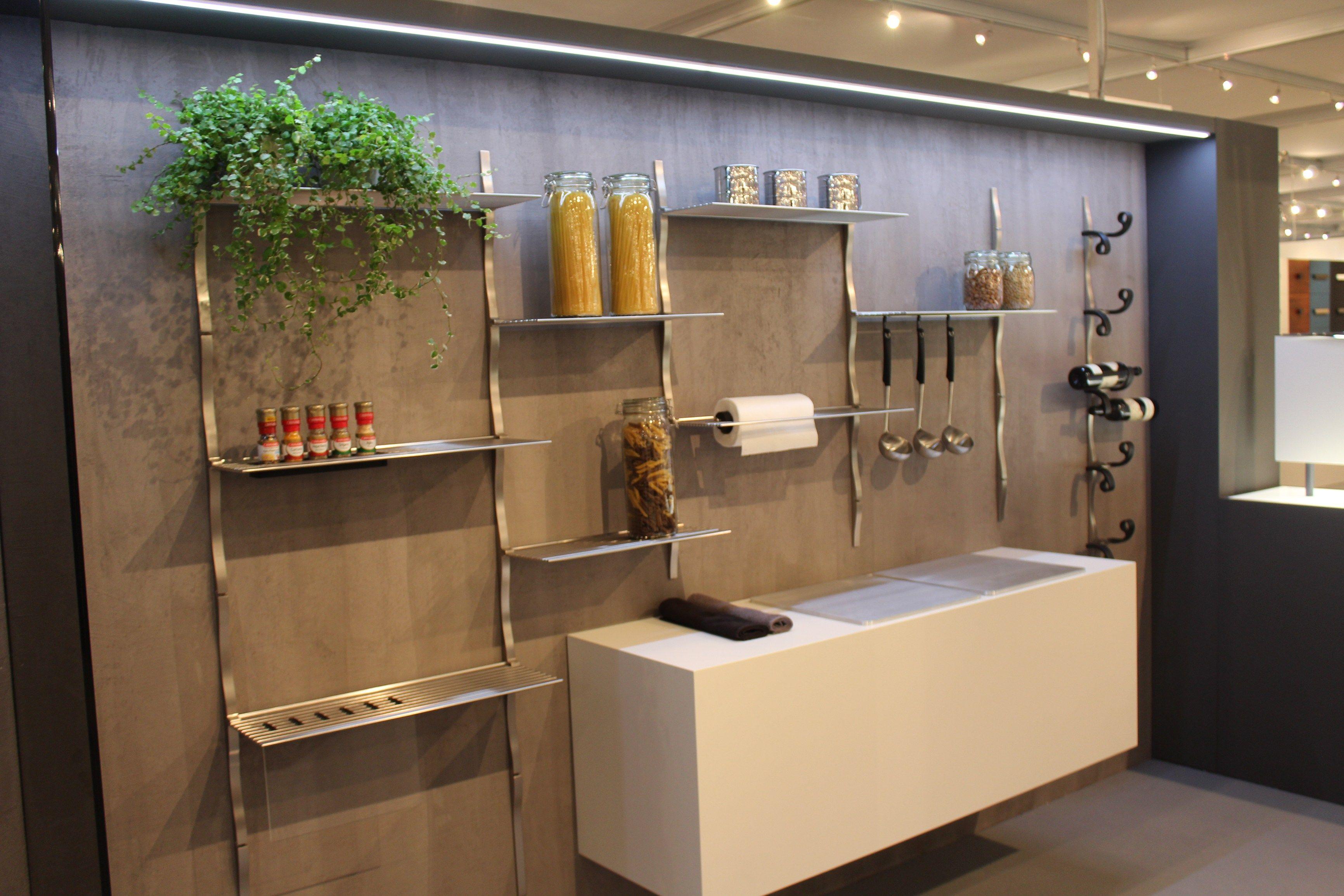 Sistema boiserie modulare per cucina SKYLINE CUCINA by Cosma