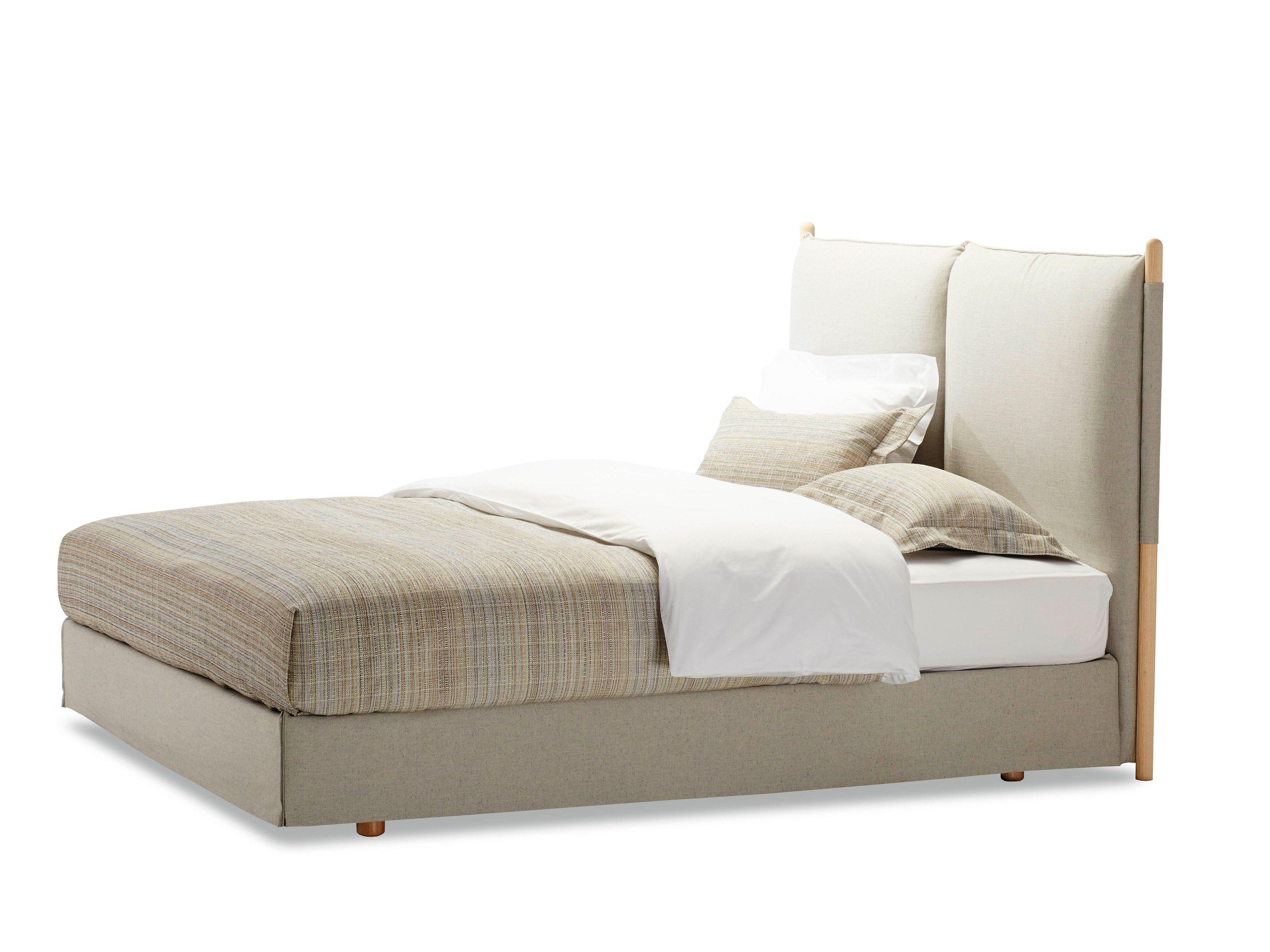 letto matrimoniale some day by schramm werkst tten design hanne willmann. Black Bedroom Furniture Sets. Home Design Ideas
