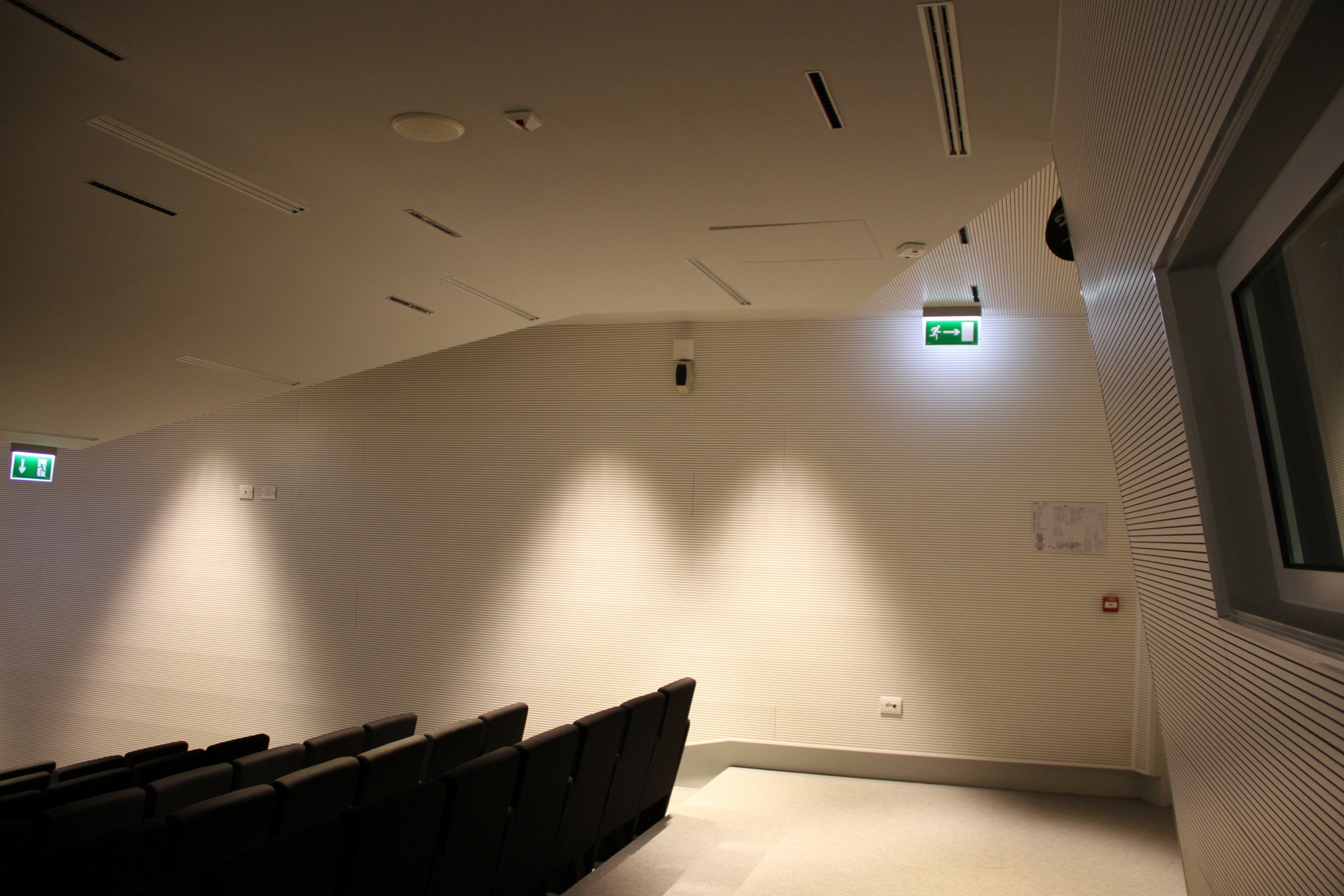 Sound ceiling tiles