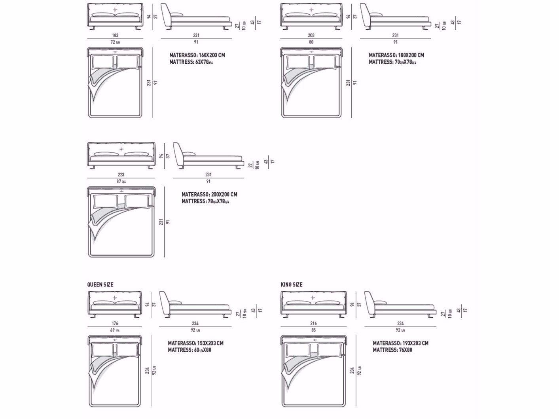spencer bed by minotti. Black Bedroom Furniture Sets. Home Design Ideas