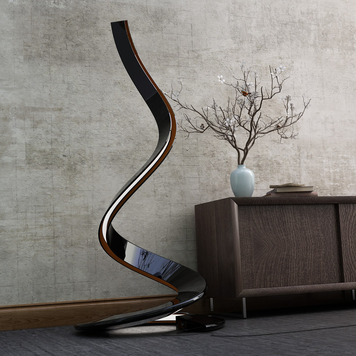 Spirale lampada da terra by italy dream design - Lampada da terra design ...