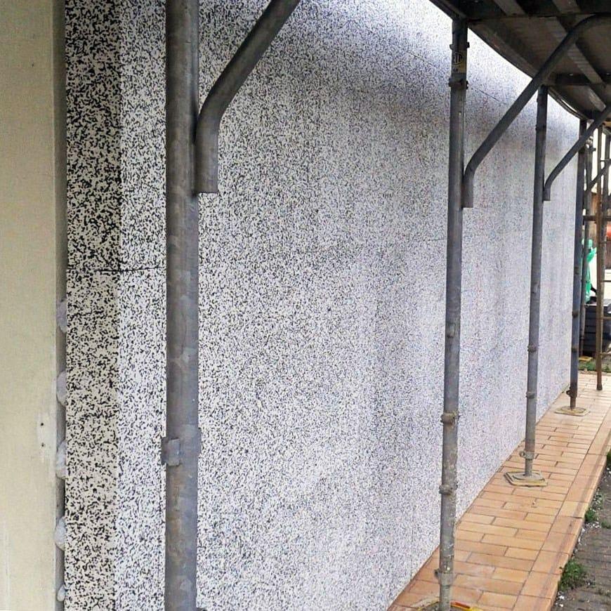 Exterior insulation system spyrogrip by pontarolo engineering for Exterior insulation