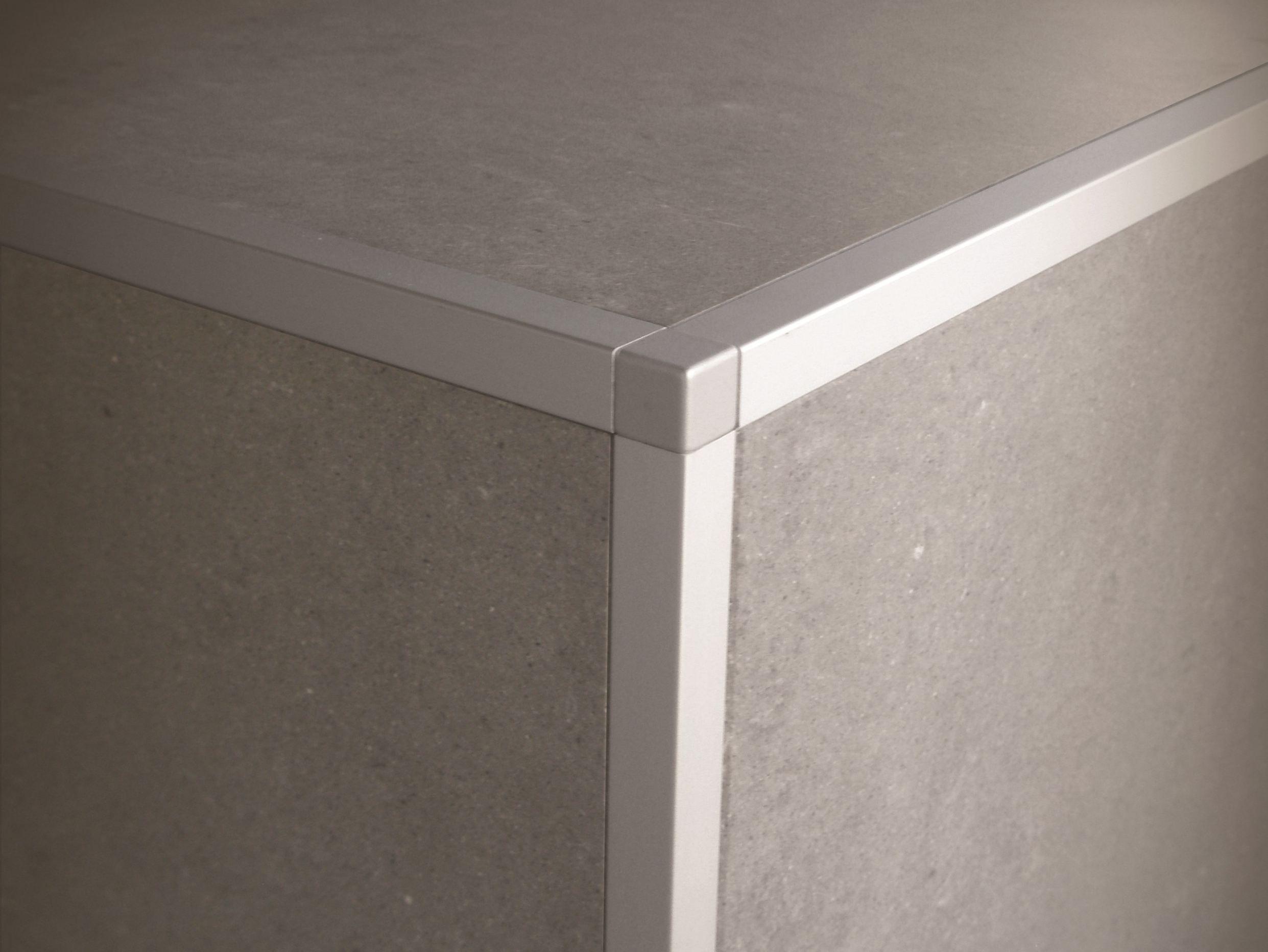 Profili per rivestimenti in ceramica squarejolly sj by - Profili jolly per piastrelle ...