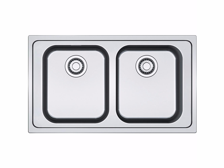 Blanco zerox 700 u stainless steel undermount sink - Blanco Zerox 700 U Stainless Steel Undermount Sink 55