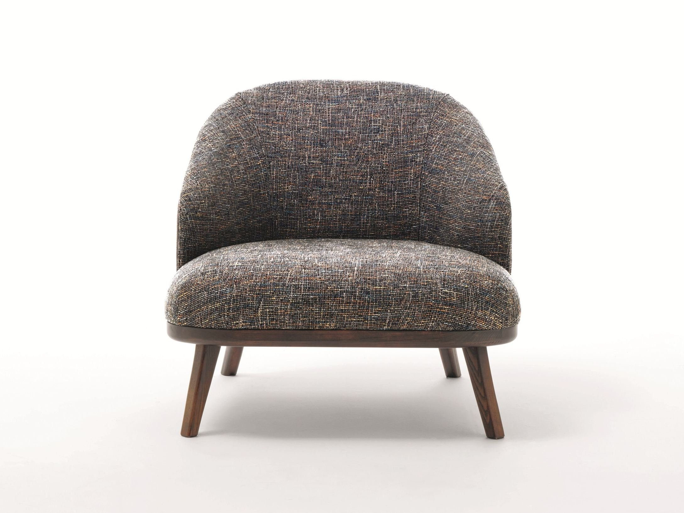 Fabric armchair with armrests st tropez by ditre italia for Di tre italia