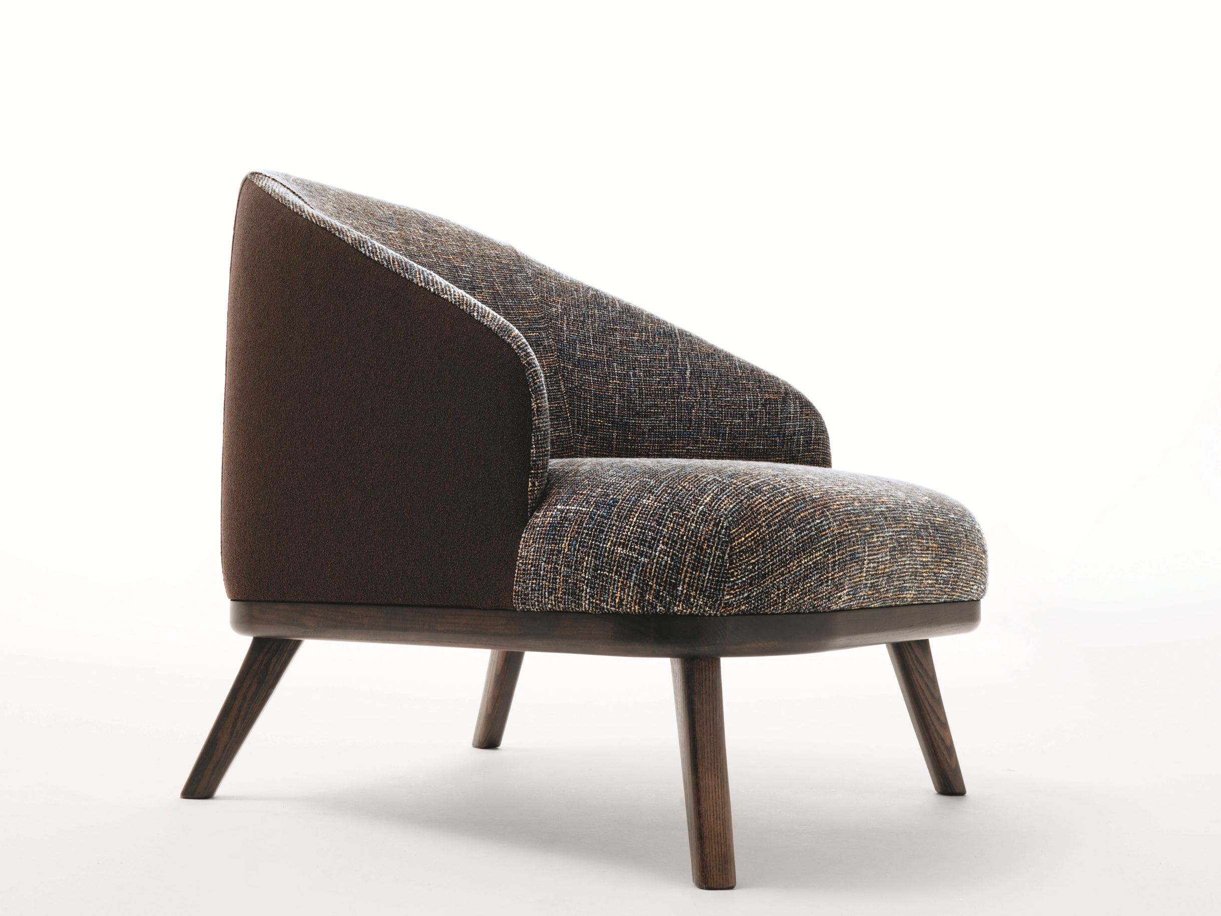 Fabric armchair with armrests ST. TROPEZ by Ditre Italia ...