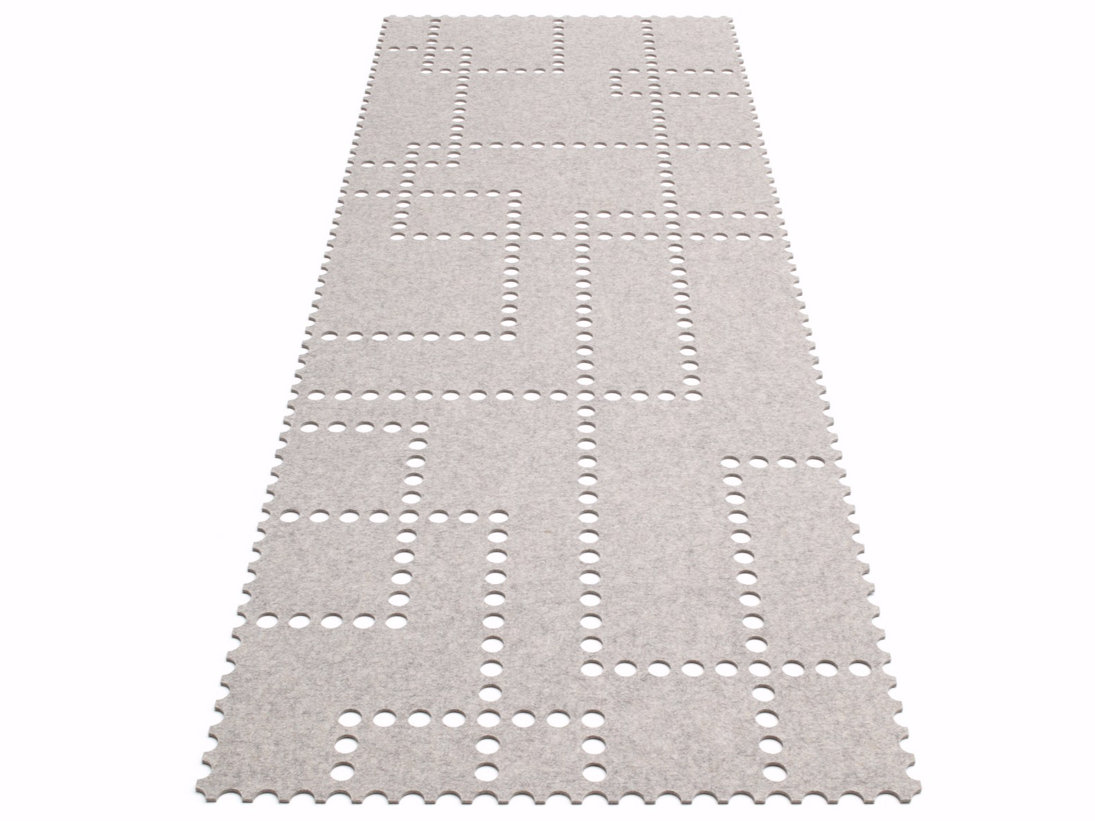 stamp rectangular rug by hey sign
