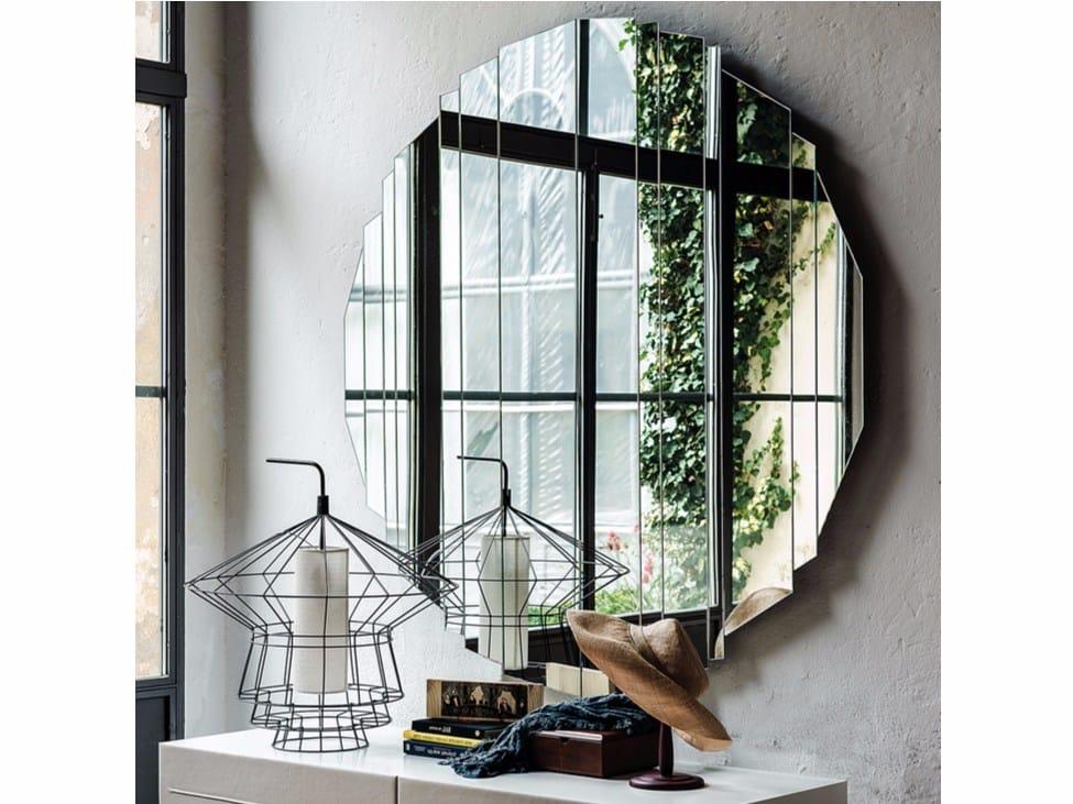 Specchio A Parete Stripes By Cattelan Italia Design Paolo