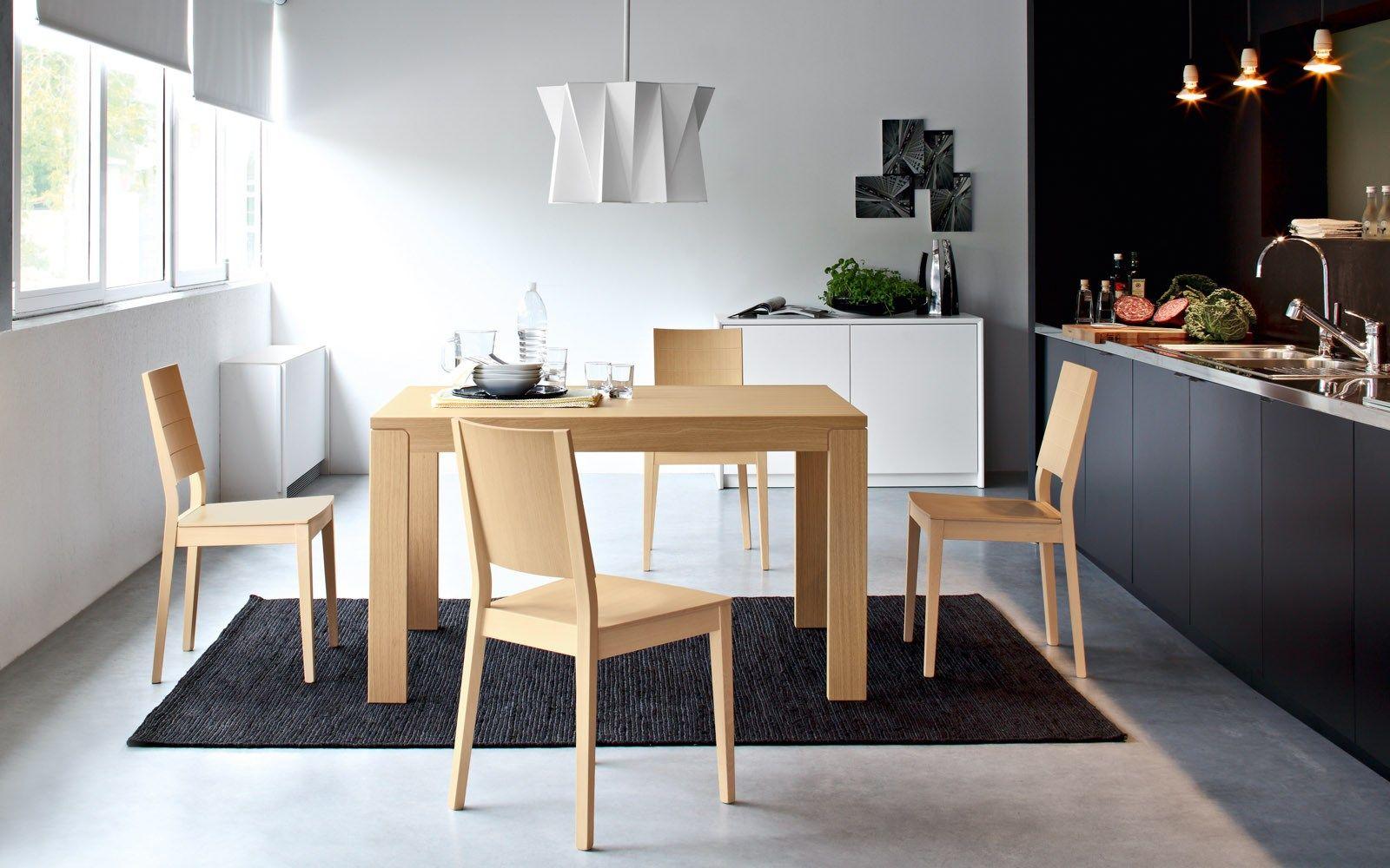 Cadeira de faia style line by calligaris design edi e - Lube tavoli e sedie prezzi ...