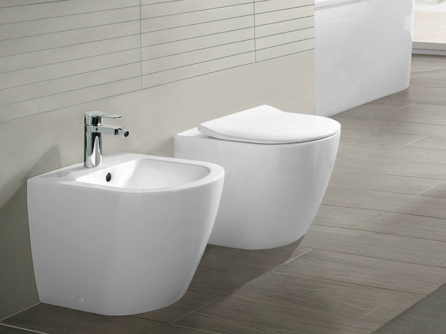 bidet in ceramica collezione subway 2 0 by villeroy boch. Black Bedroom Furniture Sets. Home Design Ideas
