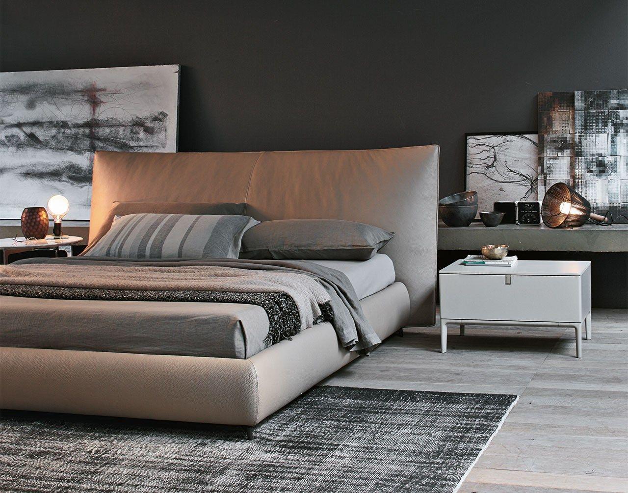 Suite letto by alivar design giuseppe bavuso - Testiera letto imbottita pelle ...