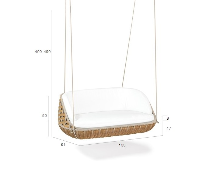 ... Dimensions SWINGREST | 2 Seater Garden Hanging Chair Great Pictures