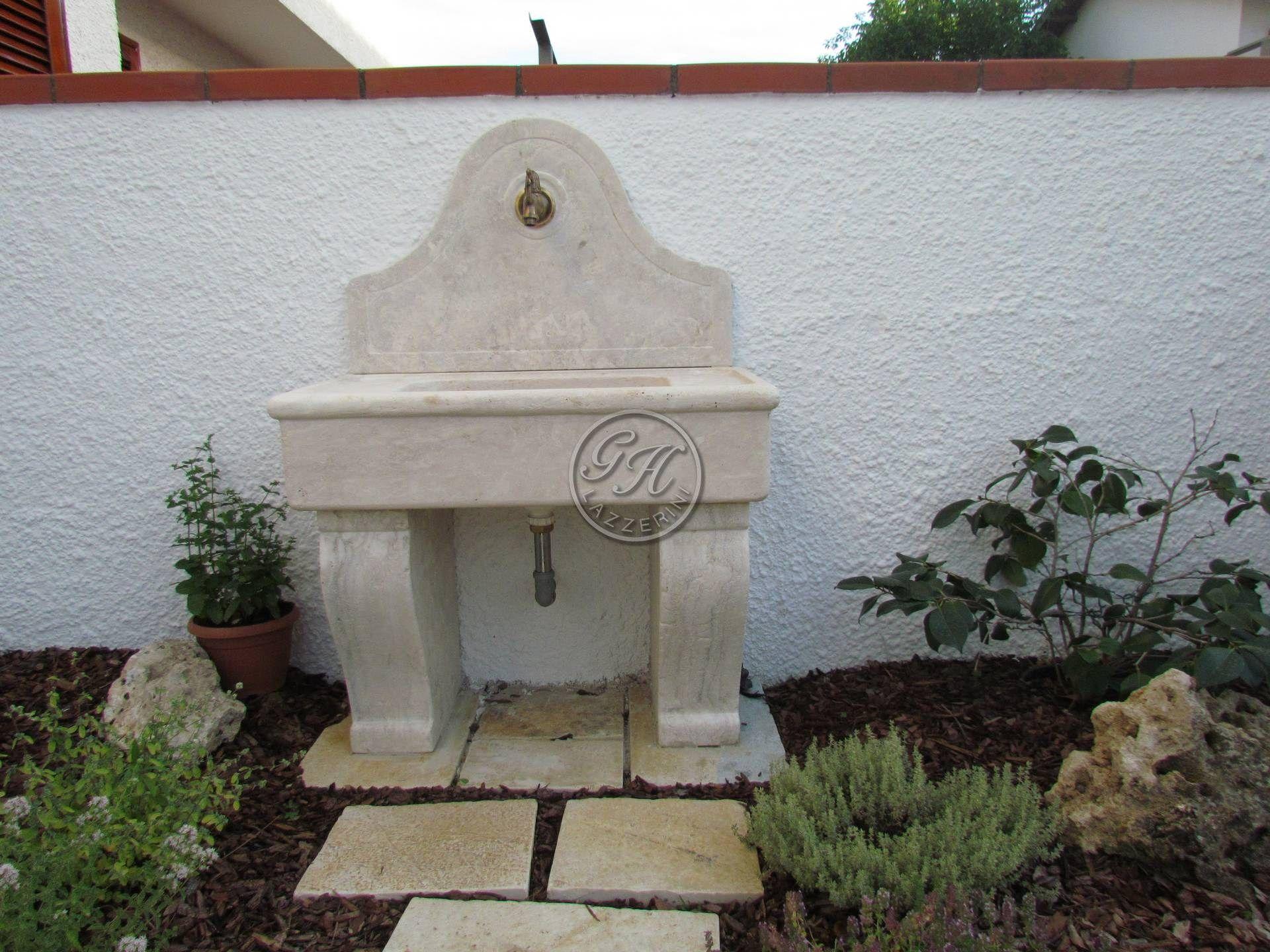 Lavabo per esterni 3 by Garden House Lazzerini