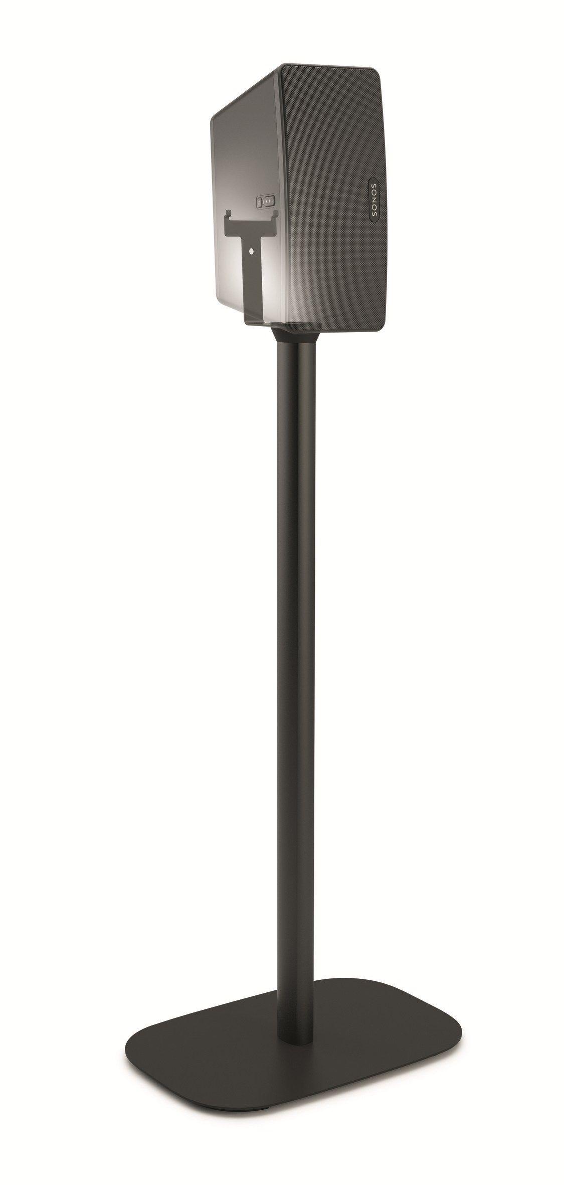 speaker stand sonos play 3 by vogel 39 s exhibo. Black Bedroom Furniture Sets. Home Design Ideas