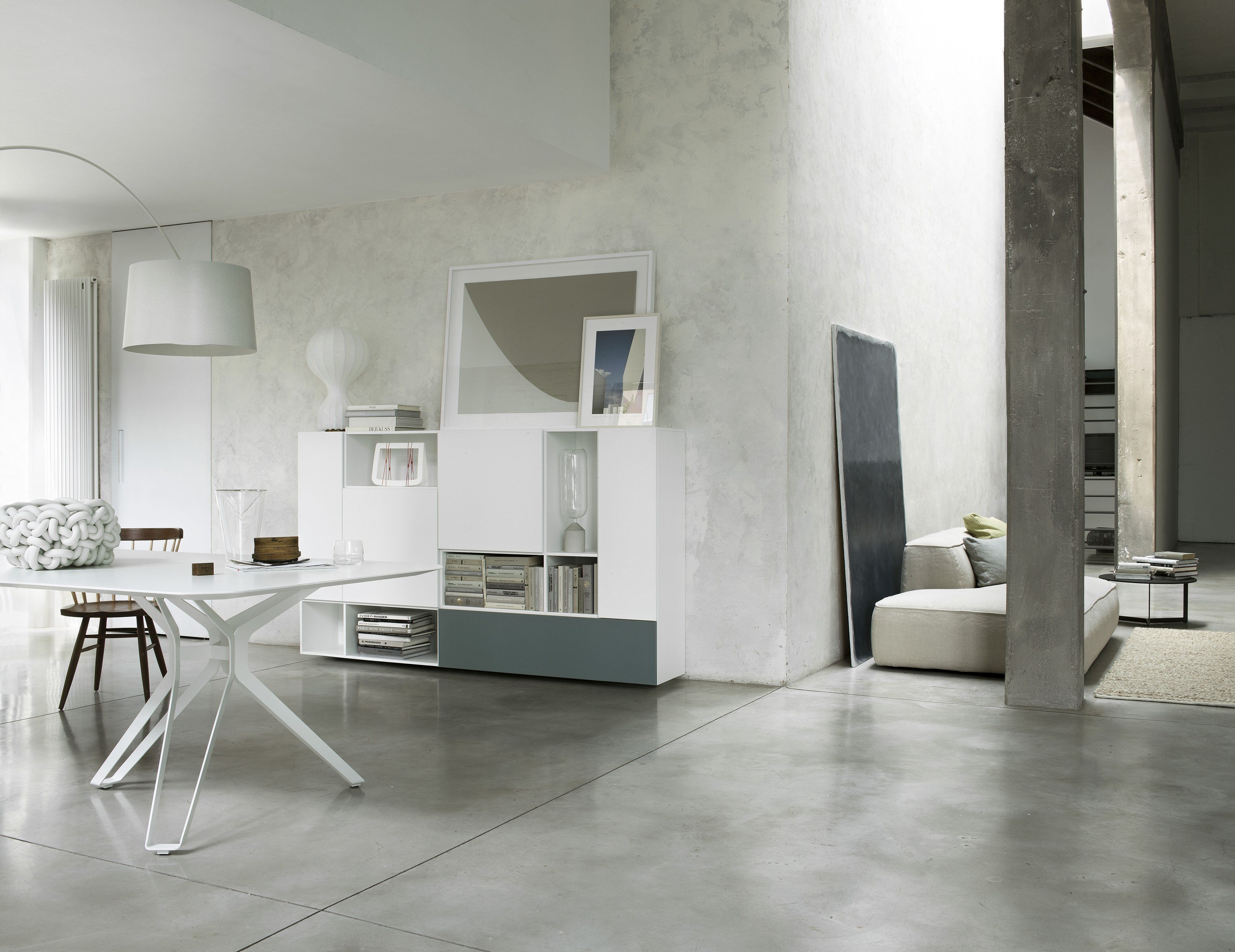 T030 wohnwand by lema design piero lissoni