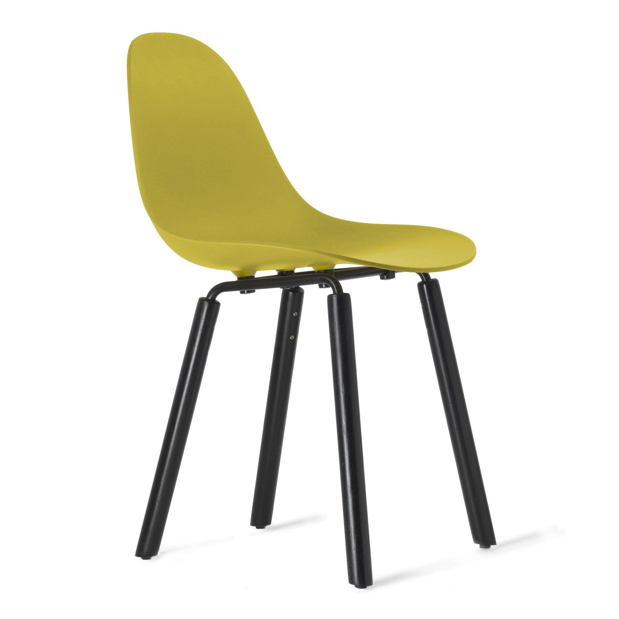 Sedia in legno in stile moderno TA Yi Black Sedia by KUBIKOFF design Simone Viola
