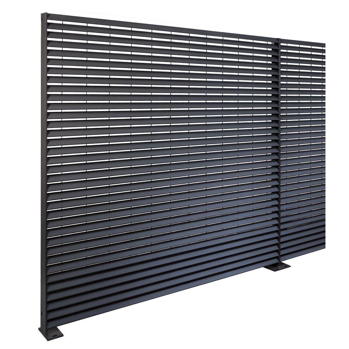 Recinzione in acciaio talia ventus by nuova defim for Sassi x giardino prezzi