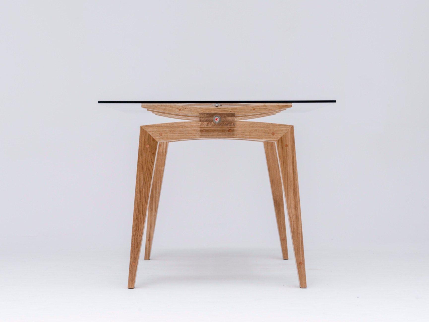 TAMAZO AIR Di ST Furniture è Un Tavolo Da Pranzo Rettangolare In  #7D4E2F 1730 1297 Mercatone Uno Tavoli Per Soggiorno