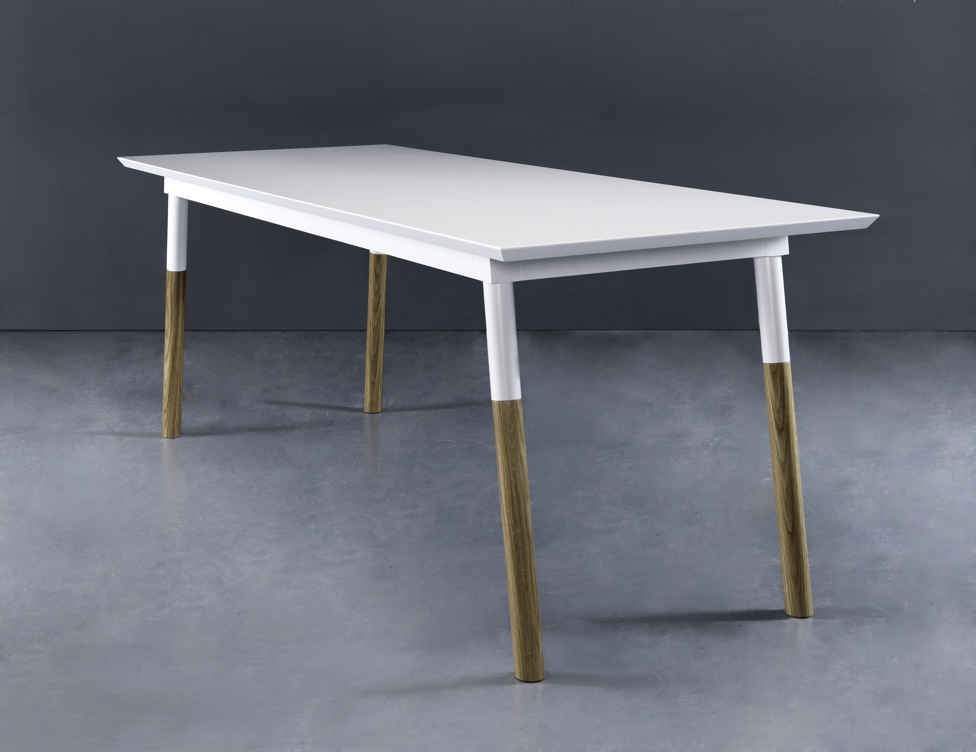 Tavolo da pranzo rettangolare in rovere TAMPA by AZEA