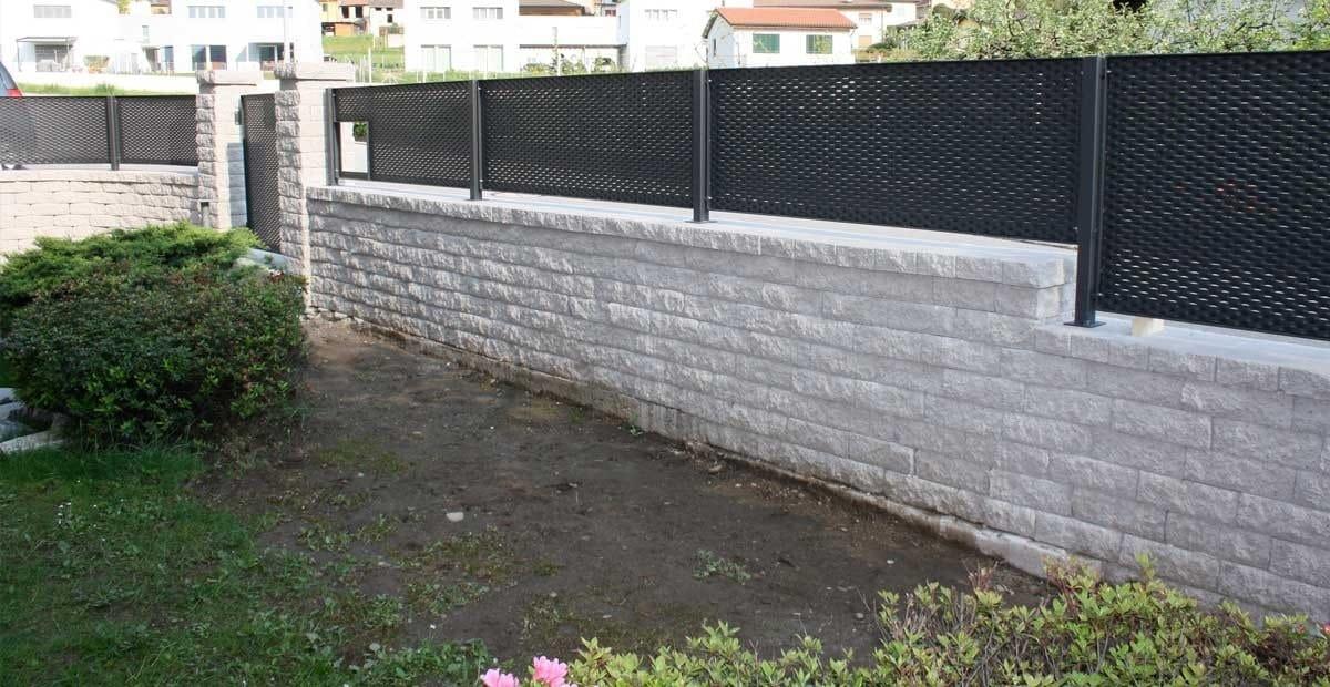 Muro a secco per giardino tango by ferrari bk - Muretti per giardino ...