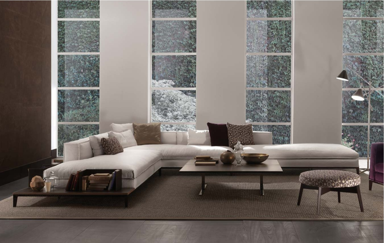 Taylor fabric sofa by frigerio salotti for Divani poltrone sofa moderni