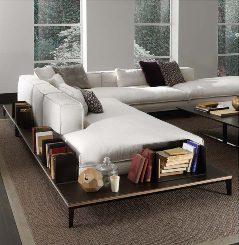 TAYLOR  Fabric sofa By Frigerio Salotti