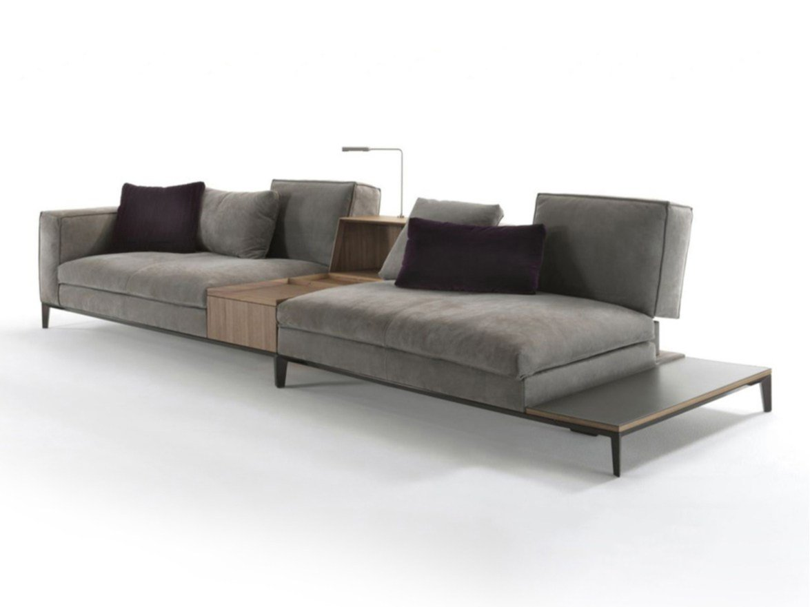 taylor sectional sofa by frigerio poltrone e divani. Black Bedroom Furniture Sets. Home Design Ideas