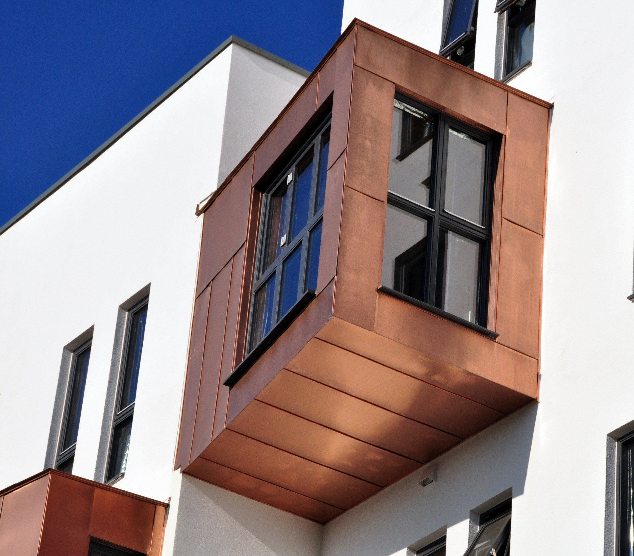 Metal Sheet And Panel For Facade Tecu 174 Bronze By Kme
