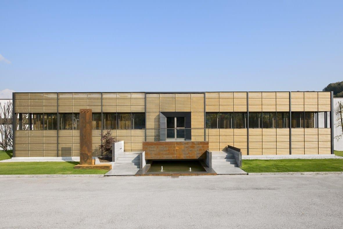 ... mesh for facade finish TECU® Design_mesh By KME Architectural