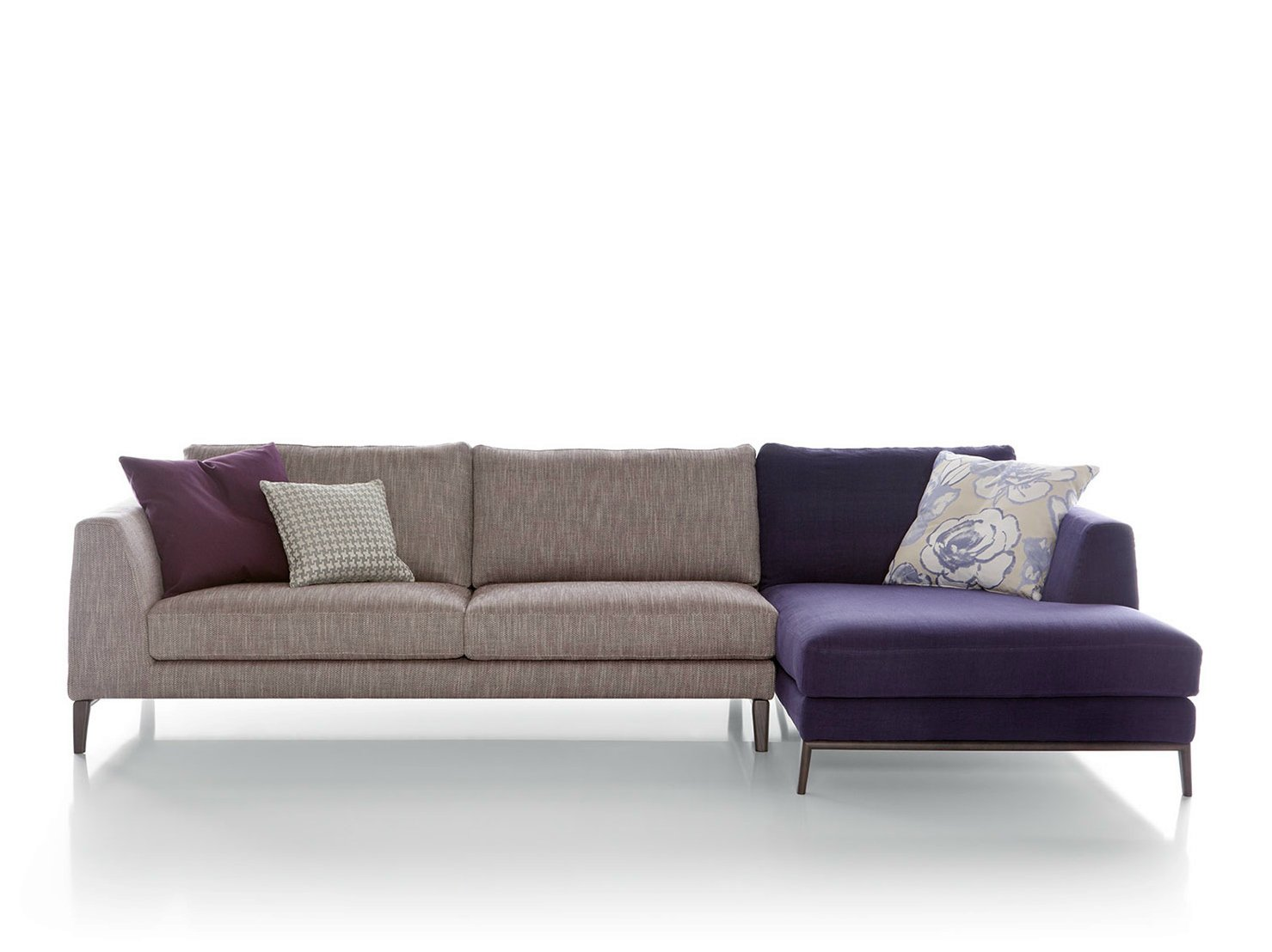 Time sofa by pianca for Sofas con chaise longue