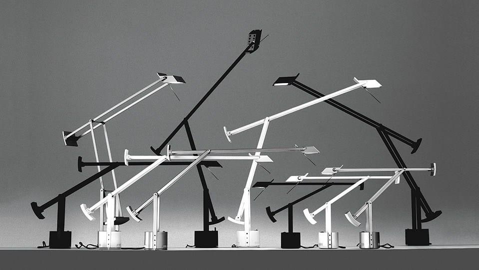 Lampada da scrivania a luce diretta alogena TIZIO X30 by Artemide Italia design Richard Sapper -> Lampada Artemide Da Scrivania
