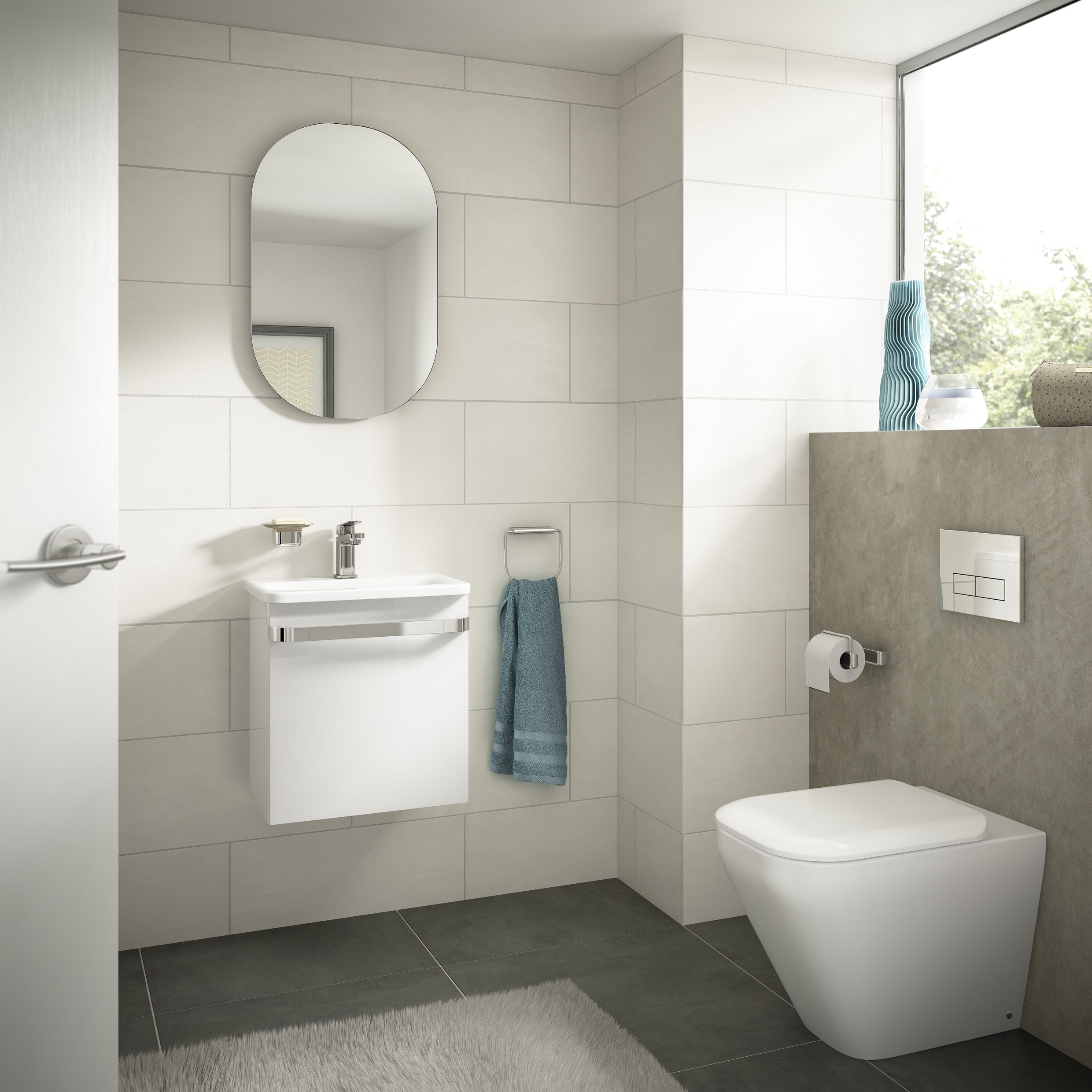 Arredo bagno completo tonic ii by ideal standard italia for Arredo bagno ideal standard