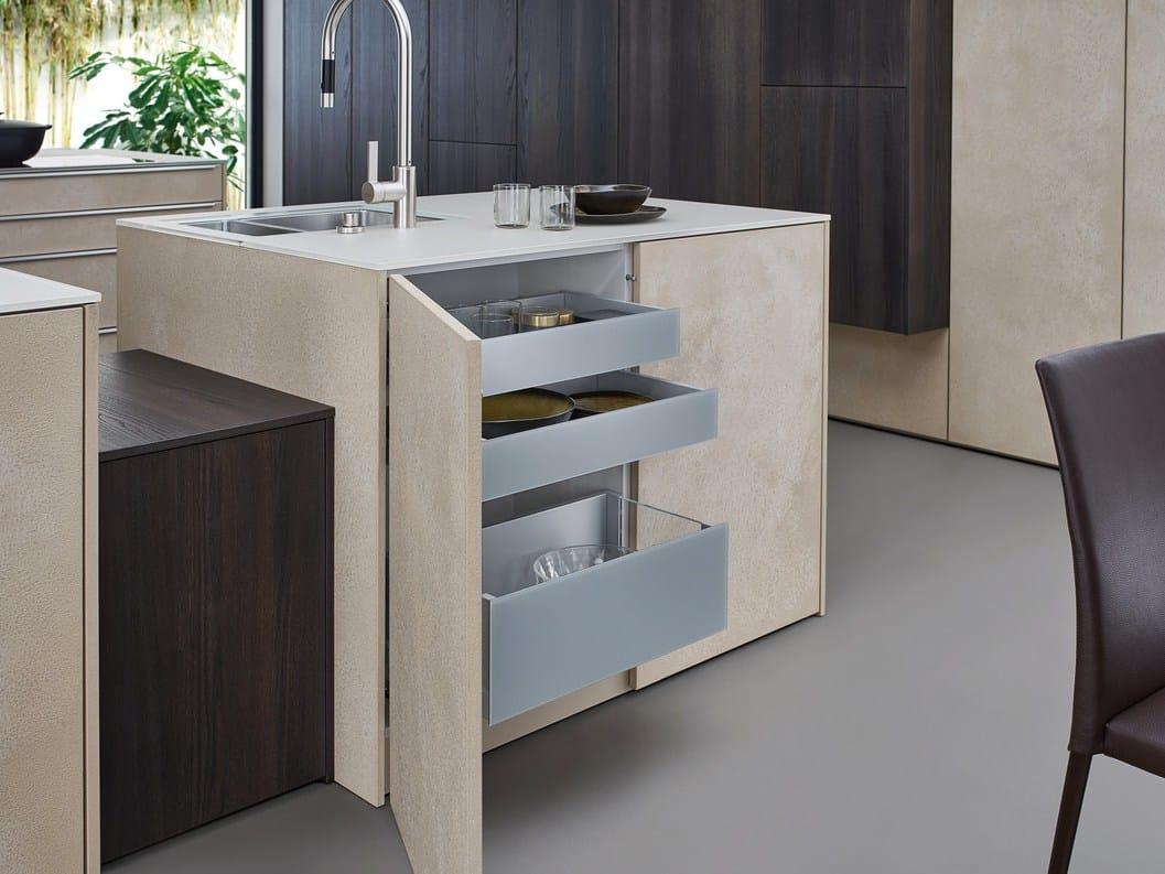 Kitchen with island TOPOS | STONE By LEICHT Küchen | {Leicht küchen logo 41}