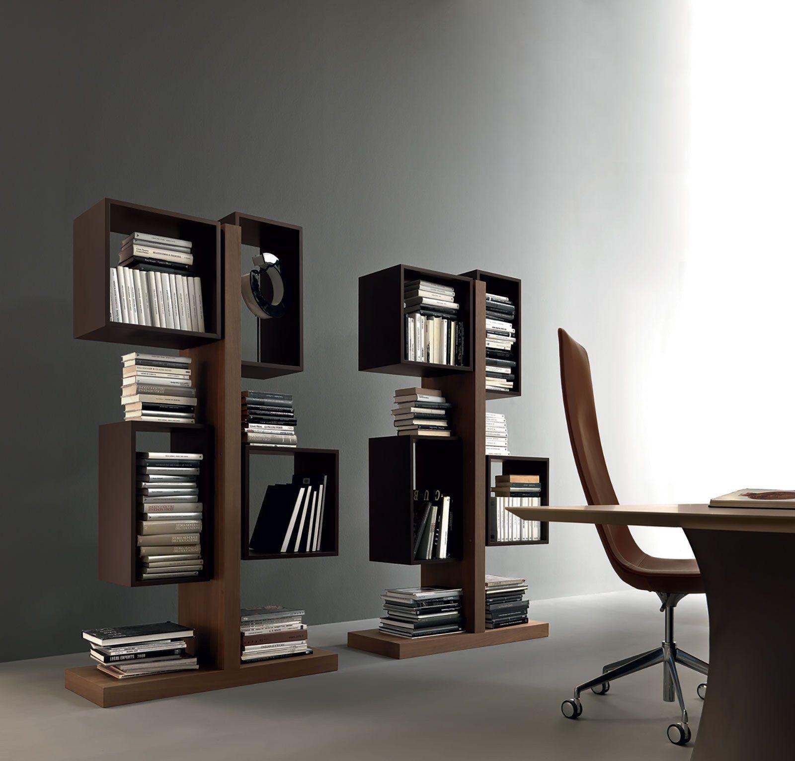 Totem libreria ufficio in legno by italy dream design for Ufficio design in legno